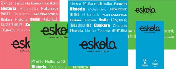 ESKOLA  KOADERNOEN  ESKAINTZA!!